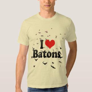 I Love Batons T-shirt