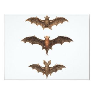 I love bats 11 cm x 14 cm invitation card