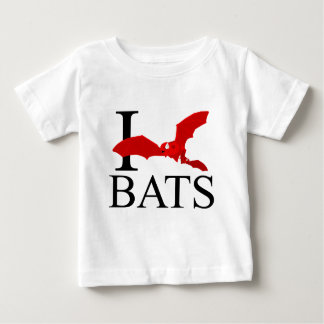 I Love Bats Baby's Infant T-Shirt