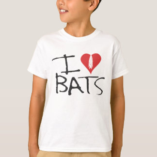 I love bats Kids Tishirt T-Shirt