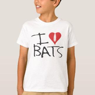 I love bats Kids Tishirt Tshirt