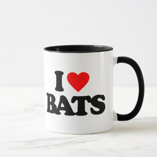 I LOVE BATS MUG