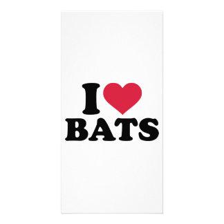 I love bats photo cards