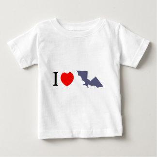 I Love Bats Tee Shirt