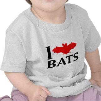 I Love Bats T-shirt