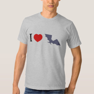 I Love Bats Tshirts