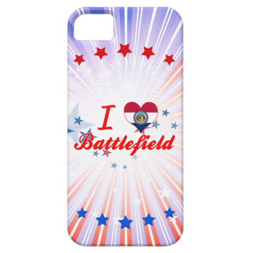 I Love Battlefield, Missouri Cover For iPhone 5/5S