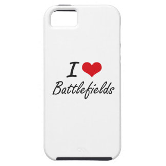 I Love Battlefields Artistic Design iPhone 5 Cover