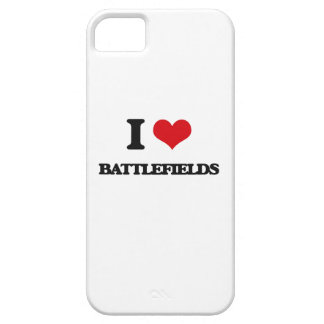 I Love Battlefields iPhone 5 Cases