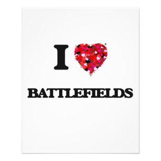 I Love Battlefields 11.5 Cm X 14 Cm Flyer