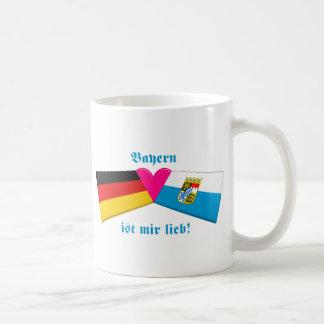 I Love Bavaria / Bayern ist mir lieb Basic White Mug