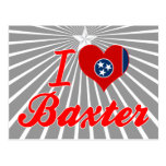 I Love Baxter, Tennessee Postcards