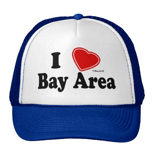 I Love Bay Area Trucker Hat