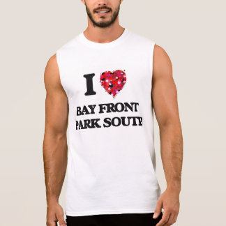 I love Bay Front Park South Florida Sleeveless T-shirts