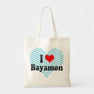 I Love Bayamon, Puerto Rico Tote Bag