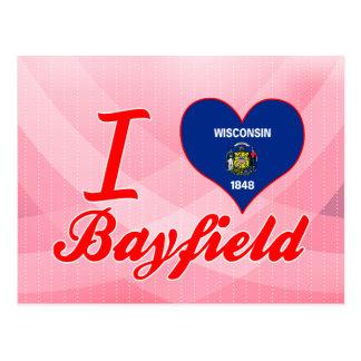 I Love Bayfield, Wisconsin Postcard