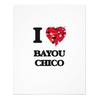 I love Bayou Chico Florida 11.5 Cm X 14 Cm Flyer