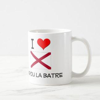 I Love BAYOU LA BATRE Alabama Basic White Mug