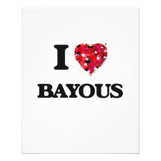 I Love Bayous 11.5 Cm X 14 Cm Flyer