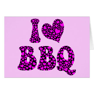 I love bbq cards
