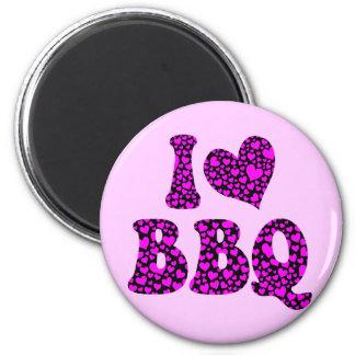 I love bbq fridge magnets