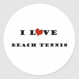 I Love Beach Tennis.png Stickers