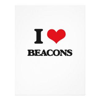 I Love Beacons 21.5 Cm X 28 Cm Flyer