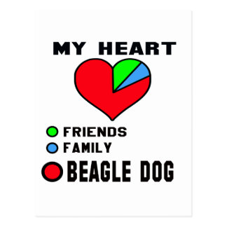 I love Beagle. Postcard