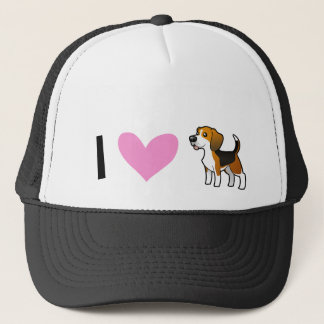 I Love Beagles Trucker Hat