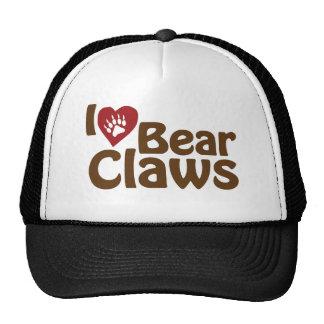 i love bear claws cap