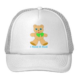 I Love Bear Hugs! I Need A Bear Hug Hat Trucker Hat