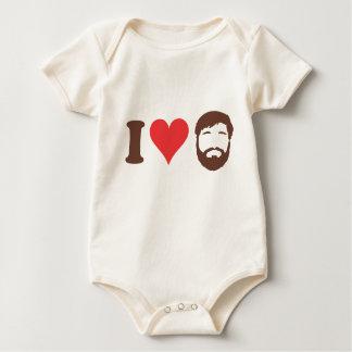 I Love Beards BABY Creeper