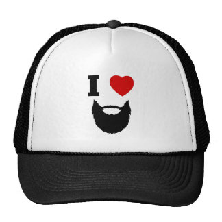 I Love Beards Cap