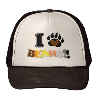 I Love Bears Cap