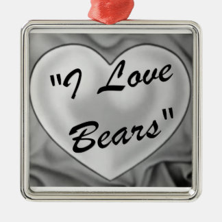 I Love Bears Ornament