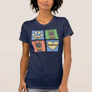 I Love Beaucerons T-Shirt