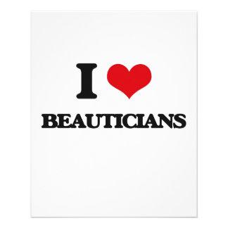 I Love Beauticians Custom Flyer