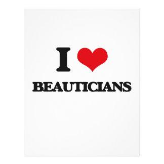 I love Beauticians Flyer