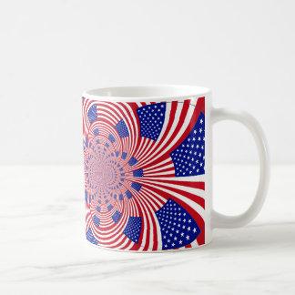 I Love Beautiful USA: Hakuna Matata Flag Mugs