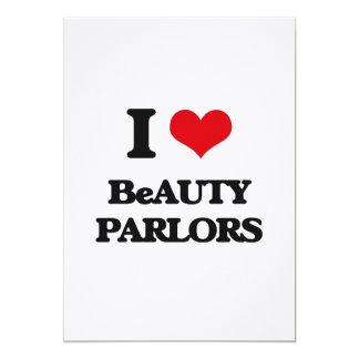 I Love Beauty Parlors Cards