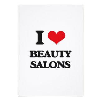 I Love Beauty Salons Card