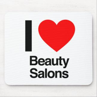 i love beauty salons mouse pad