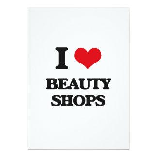 I Love Beauty Shops Cards
