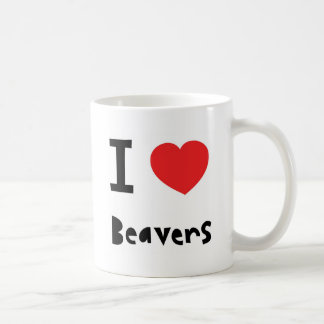 I love Beavers Coffee Mug