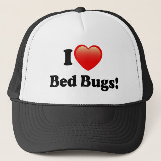 I love Bed Bugs Trucker Hat