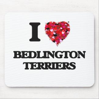 I love Bedlington Terriers Mouse Pad
