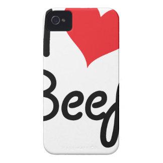 I Love Beef Case-Mate iPhone 4 Case