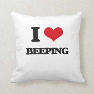 I Love Beeping Pillows