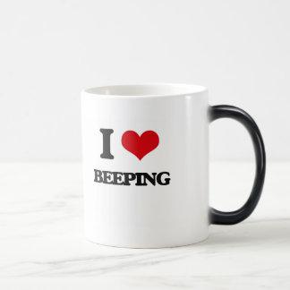 I Love Beeping Coffee Mugs
