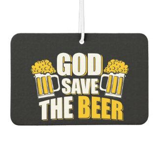 i love beer Air Freshener, New Car
